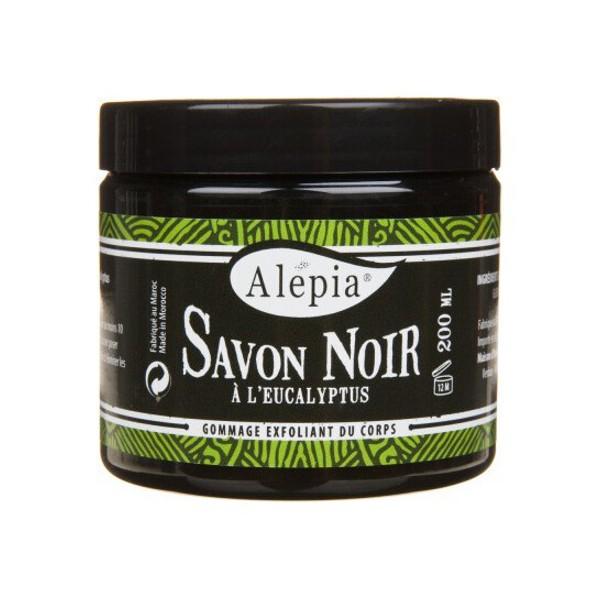 savon noir a l'eucalyptus