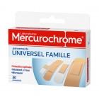 MERCUROCHROME PANSEMENTS UNIVERSEL FAMILLE BOITE DE 50