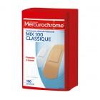 MERCUROCHROME BOITE 1ERS SECOURS MULTI-USAGE 100 PANSEMENTS