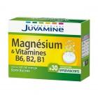 JUVAMINE MAGNESIUM ET VITAMINE B6 B2 B1 30 COMPRIMES EFFERVESCENTS