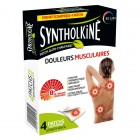 SYNTHOLKINE PATCH CHAUFFANT DOS NUQUE EPAULES 4 PATCHS
