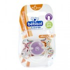 BEBISOL SUCETTE REVERSIBLE SILICONE AFRICAIN +6 MOIS (REF 2)