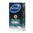 MANIX SUPREME SANS LATEX 10 PRESERVATIFS