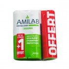 AMILAB SOIN LEVRES DUO 2 X 3,6ML + 1 TUBE OFFERT