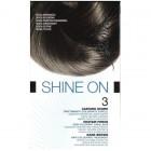 BIONIKE SHINE ON COLORATION CHEVEUX PERMANENTE HAUTE TOLERANCE CHATAIN FONCE 3