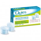 Quies Protection Auditive Silicone Anti-Bruit Discrétion 3 paires