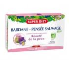 Super Diet Bardane - Pensée Sauvage Bio - 20 ampoules de 15ml