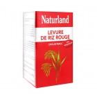 NATURLAND LEVURE DE RIZ ROUGE 150 VEGECAPS