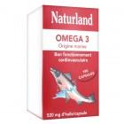NATURLAND OMEGA 3 ORIGINE MARINE 180 CAPSULES