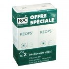 Keops Déodorant Stick Lot de 2 x 40ml
