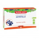 SUPER DIET MYRTILLE BIO 20 AMPOULES DE 15ML