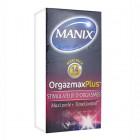MANIX ORGAZMAX PLUS STIMULATEUR D'ORGASMES 14 PRESERVATIFS