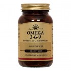 SOLGAR OMEGA 3-6-9 POISSON LIN BOURRACHE 60 SOFTGELS