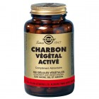 SOLGAR CHARBON VEGETAL ACTIVE 100 GELULES VEGETALES