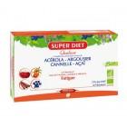 SUPER DIET QUATUOR ACEROLA TONIQUE BIO 20 AMPOULES DE 15ML