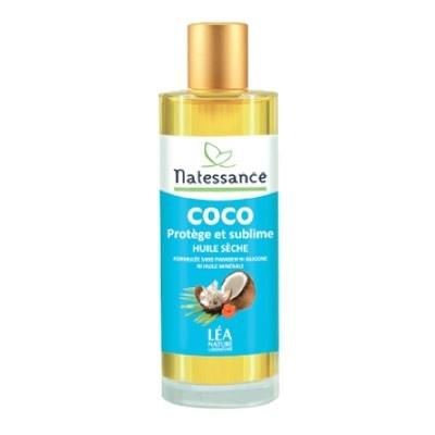 huile sèche coco