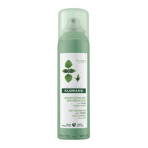 shampoing sec Klorane Cheveux gras