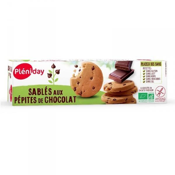 Biscuits sans gluten aux pépites de chocolat