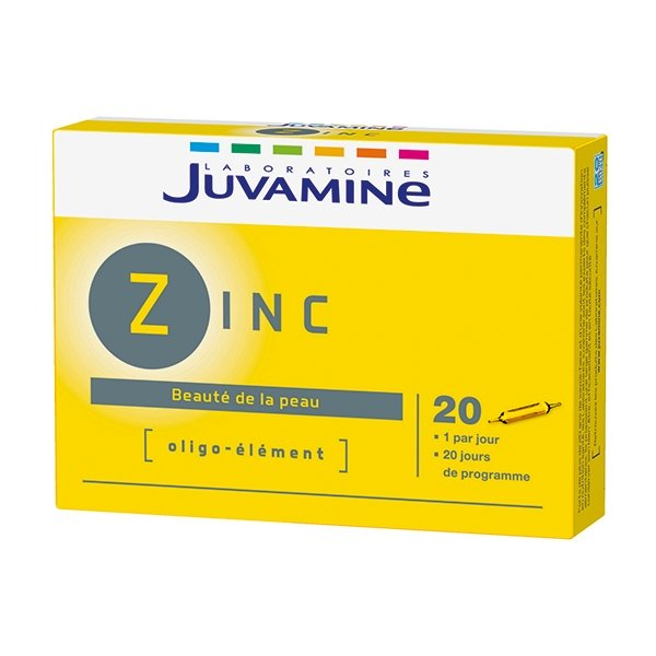 bienfait du zinc sur le corps humain