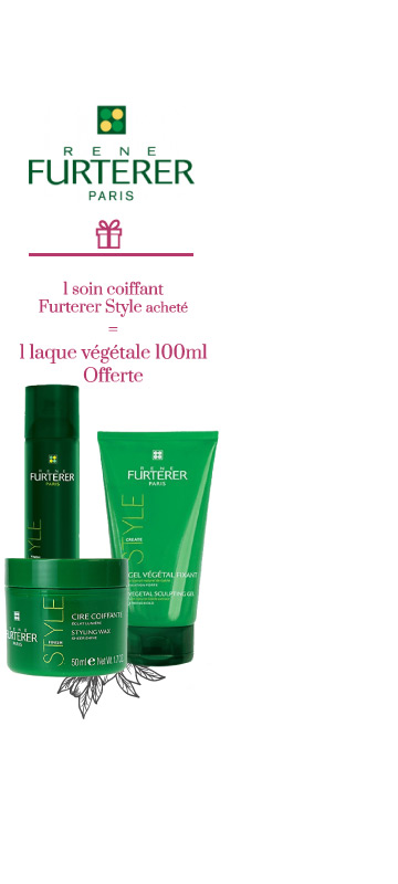 En Avril ! Promotion sur le laboratoire Furterer