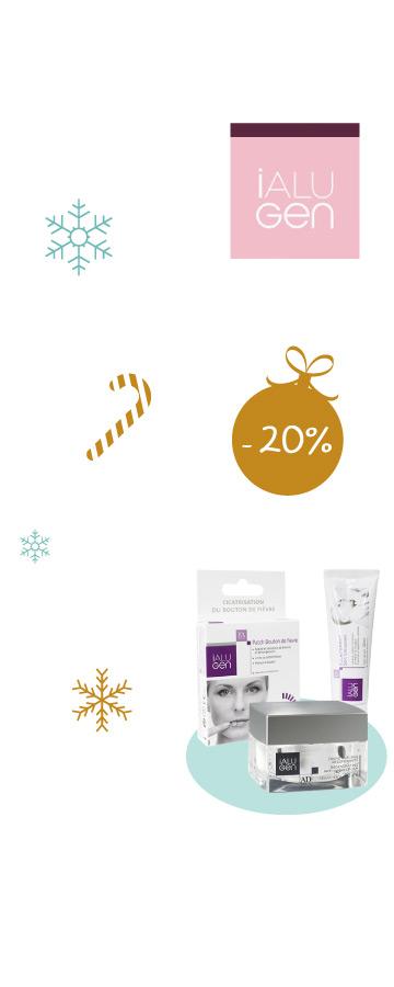 En novembre profitez de -20% sur tous les produits Ialugen