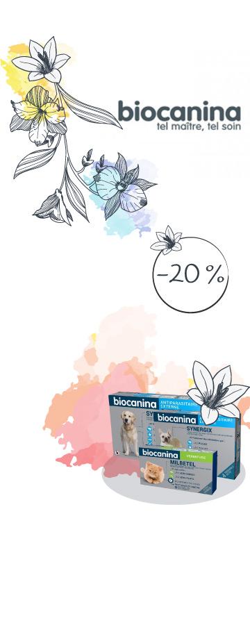 En Juin ! -20% sur le laboratoire Biocanina
