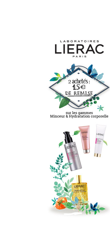 En Mars !  Promotions sur le laboratoire Lierac