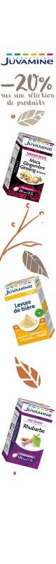 En Novembre !  Promotion sur le laboratoire Juvamine
