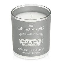 Le Couvent des Minimes Eau des Minimes Bougie Parfumée Agrumes 130g