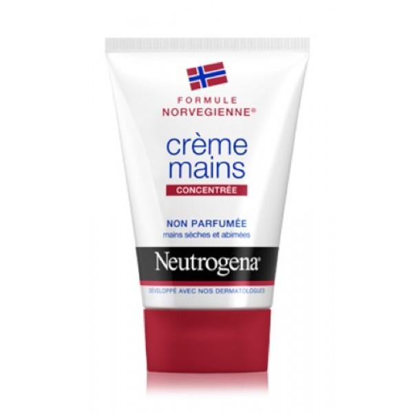 Neutrogena Crème Mains Concentrée Non Parfumée tube 50ml