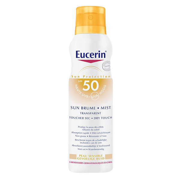Eucerin Sun Brume Mist Transparent Spray SPF50 200ml