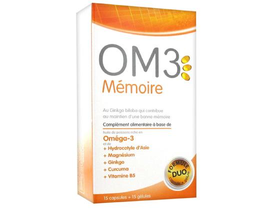 OM3 Mémoire Formule Duo 15 capsules + 15 gélules