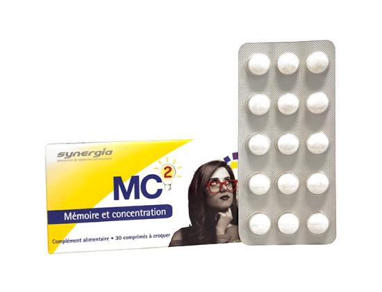 Synergia MC2 Mémoire et Concentration 30 comprimés