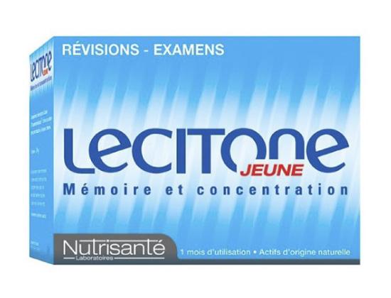 Nutrisanté Lecitone Jeune Mémoire et Concentration 60 gélules