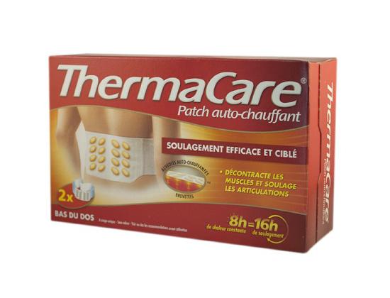 Thermacare Patch Chauffant Anti-Douleur Ceinture boite de 2