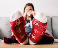 Cocooning : des pieds au chaud et tout doux !