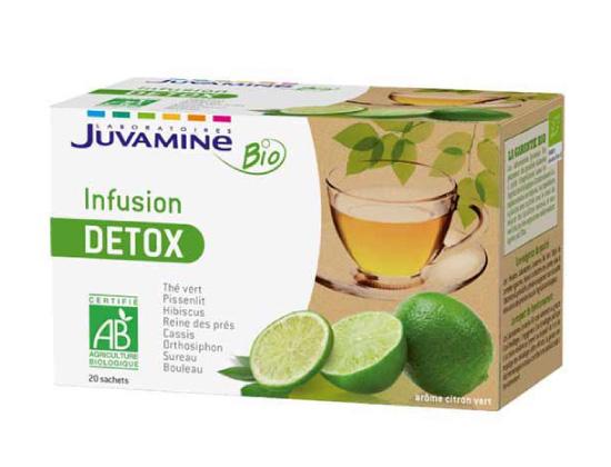Juvamine - Infusion Bio - Détox 20 sachets   400ml