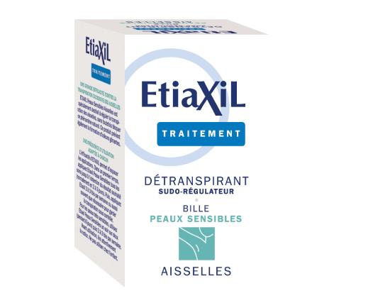 Etiaxil Déodorant Détranspirant Aisselles Peaux Sensibles 15ml