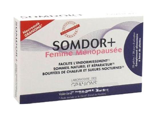 Granions Somdor + Femme Ménopausée 28 gélules