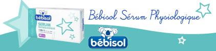 Voir le produit Bébisol Sérum Physiologique 40 unidoses de 5ml