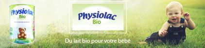 Voir gamme produit Physiolac
