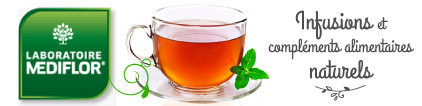 Laboratoire les infusions naturelles et les compléments alimentaires de Mediflor - Prix bas