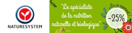 Promo NatureSystem Nutrition bio - Pas cher