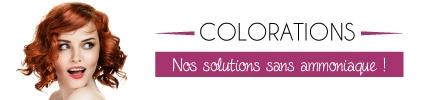 Colorations cheveux sans ammoniaque  - Prix bas