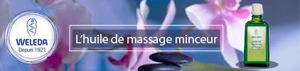 Voir l'huile de massage minceur du laboratoire Weleda