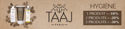 Promotions Taaj - Prix bas