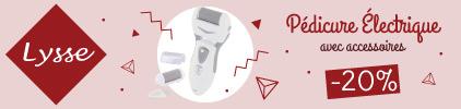 Promotion Lysse pedicure - Pas cher