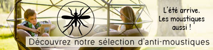 Sélection anti-moustiques pour vos vacances - Pas cher