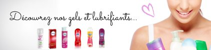 Gels et lubrifiants - Pas cher