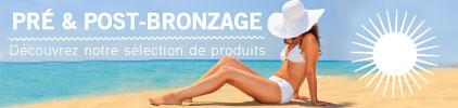 Catégorie Post et Pré Bronzage - Pas cher